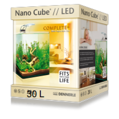 dennerle nano cube complete led 30l. Black Bedroom Furniture Sets. Home Design Ideas